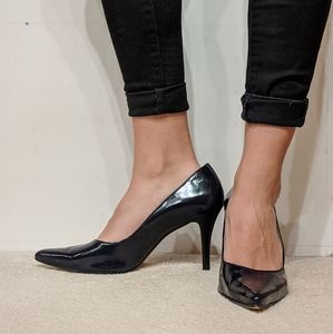 Talbots Navy blue high heels